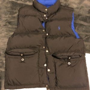 Reversible Ralph Lauren puffy vest